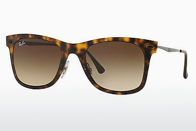 solbrille Ray-Ban RB4210 894/13 - Brun, Havanna