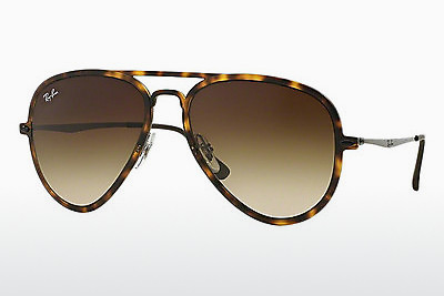 solbrille Ray-Ban RB4211 894/13 - Brun, Havanna