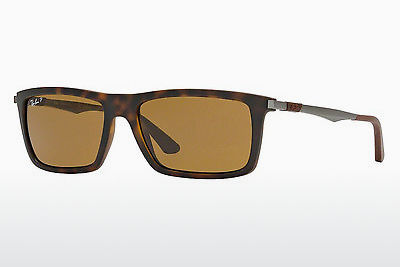 solbrille Ray-Ban RB4214 609283 - Brun, Havanna