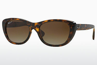solbrille Ray-Ban RB4227 710/T5 - Brun, Havanna