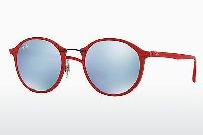 solbrille Ray-Ban RB4242 764/30 - Rød