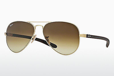 solbrille Ray-Ban AVIATOR TM CARBON FIBRE (RB8307 112/85) - Gull
