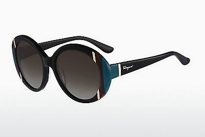 solbrille Salvatore Ferragamo SF766S 001 - Sort