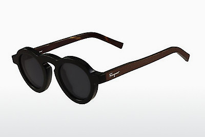 solbrille Salvatore Ferragamo SF812S 001 - Sort