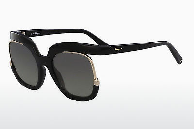 solbrille Salvatore Ferragamo SF863S 001 - Sort