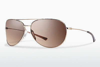 solbrille Smith ROCKFORD SLIM AU2/7K - Rød, Gull