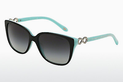 solbrille Tiffany TF4111B 80553C - Sort, Blå