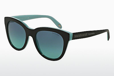 solbrille Tiffany TF4112 80559S - Sort, Blå
