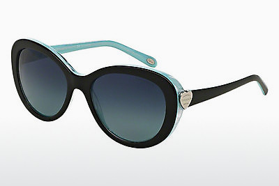 solbrille Tiffany TF4113 81934U - Sort, Brun, Havanna, Blå