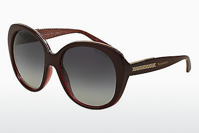 solbrille Tiffany TF4115 82053C - Rød, Bordeaux