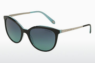 solbrille Tiffany TF4117B 81939S - Sort, Brun, Havanna, Blå