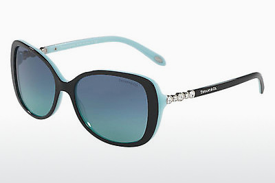solbrille Tiffany TF4121B 80559S - Sort, Blå