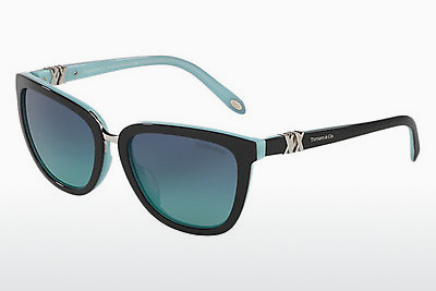 solbrille Tiffany TF4123 80559S - Sort, Blå