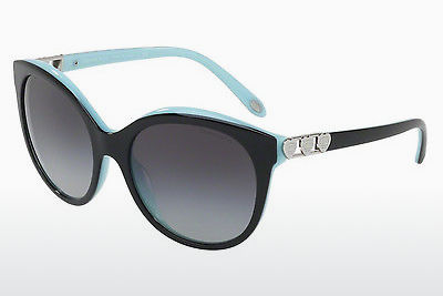 solbrille Tiffany TF4133 80553C - Sort, Blå