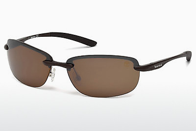 solbrille Timberland TB9051 49H - Brun