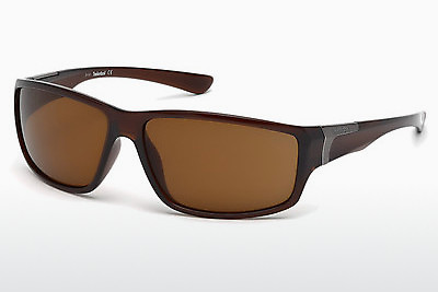 solbrille Timberland TB9068 50H - Brun