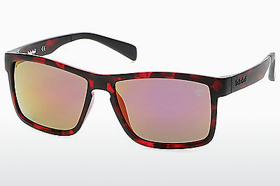 solbrille Timberland TB9081 54D - Havanna, Red