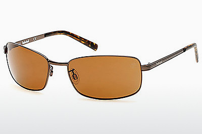 solbrille Timberland TB9099 49H - Brun