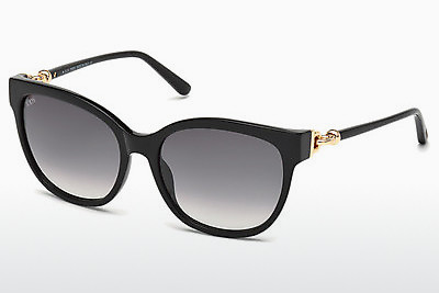 solbrille Tod's TO0153 01B - Sort, Shiny