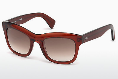 solbrille Tod's TO0187 69F - Burgunder, Bordeaux, Shiny