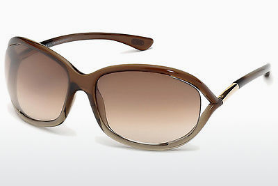 solbrille Tom Ford Jennifer (FT0008 38F) - Brun