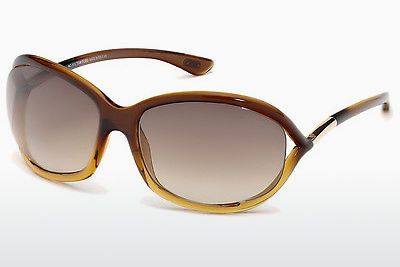 solbrille Tom Ford Jennifer (FT0008 50F) - Brun, Dark