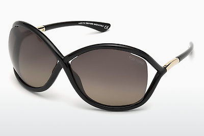 solbrille Tom Ford Whitney (FT0009 01D) - Sort, Shiny