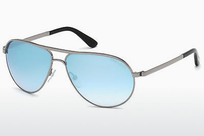 solbrille Tom Ford Marko (FT0144 14X) - Grå, Shiny, Bright