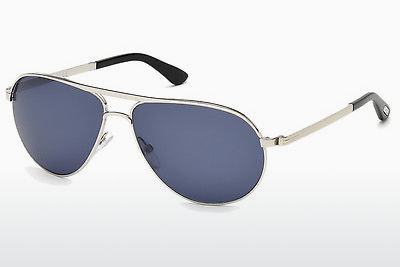 solbrille Tom Ford Marko (FT0144 18V) - Sølv, Shiny