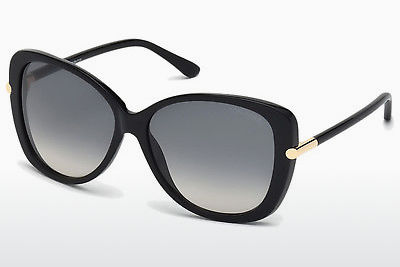 solbrille Tom Ford Linda (FT0324 01B) - Sort, Shiny