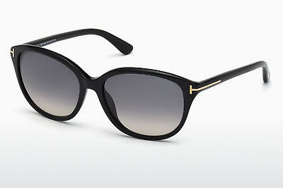 solbrille Tom Ford Karmen (FT0329 01B) - Sort, Shiny