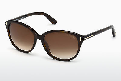 solbrille Tom Ford Karmen (FT0329 52F) - Brun, Dark, Havana