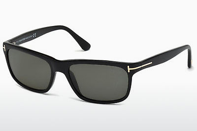 solbrille Tom Ford Hugh (FT0337 01N) - Sort, Shiny