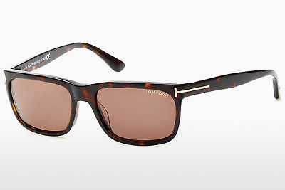 solbrille Tom Ford Hugh (FT0337 56J) - Brun, Havanna