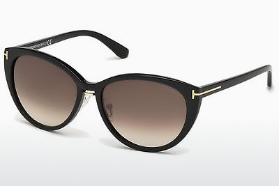 solbrille Tom Ford Gina (FT0345 01B) - Sort, Shiny