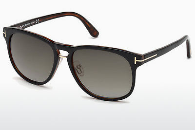 solbrille Tom Ford Franklin (FT0346 01V) - Sort, Shiny