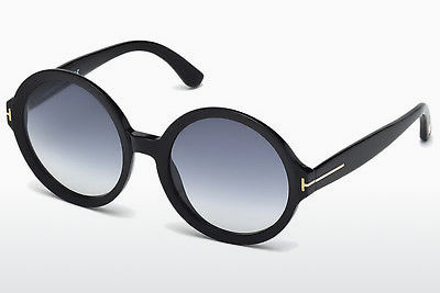 solbrille Tom Ford Juliet (FT0369 01B) - Sort, Shiny