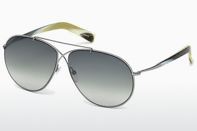 solbrille Tom Ford Eva (FT0374 15B) - Grå, Shiny, Matt