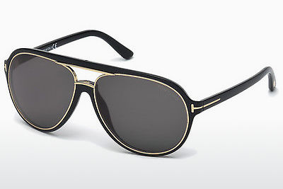 solbrille Tom Ford Sergio (FT0379 01A) - Sort, Shiny