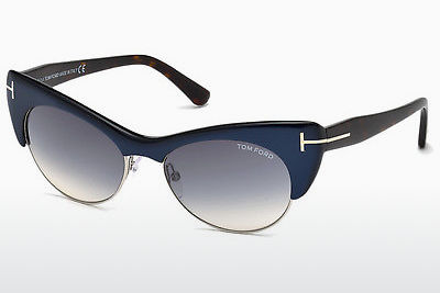 solbrille Tom Ford Lola (FT0387 89W) - Blå, Turquoise