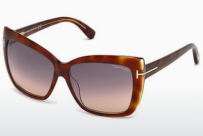 solbrille Tom Ford Irina (FT0390 53F) - Havanna, Yellow, Blond, Brown