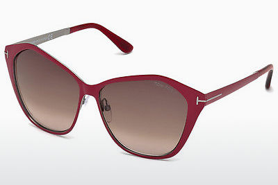 solbrille Tom Ford Lena (FT0391 69Z) - Burgunder, Bordeaux, Shiny