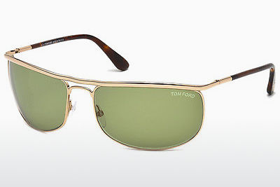 solbrille Tom Ford Ryder (FT0418 28N) - Gull