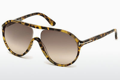 solbrille Tom Ford Edison (FT0443 53F) - Havanna, Yellow, Blond, Brown