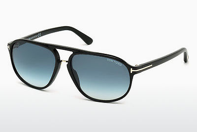 solbrille Tom Ford Jacob (FT0447 01P) - Sort, Shiny