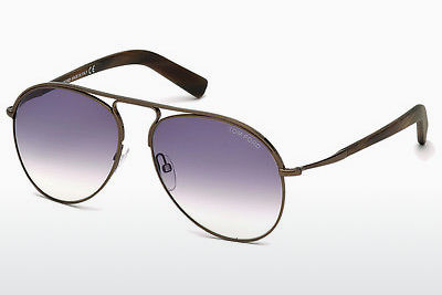 solbrille Tom Ford Cody (FT0448 48Z) - Brun, Dark, Shiny