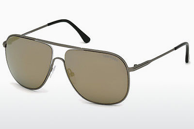 solbrille Tom Ford Dominic (FT0451 09C) - Grå, Matt