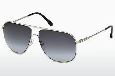 solbrille Tom Ford Dominic (FT0451 16W) - Sølv, Shiny, Grey