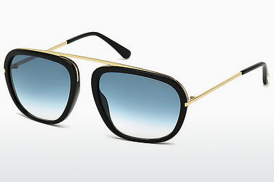 solbrille Tom Ford Johnson (FT0453 01P) - Sort, Shiny
