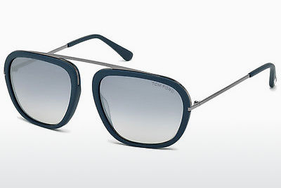 solbrille Tom Ford Johnson (FT0453 88C) - Blå, Turquoise, Matt